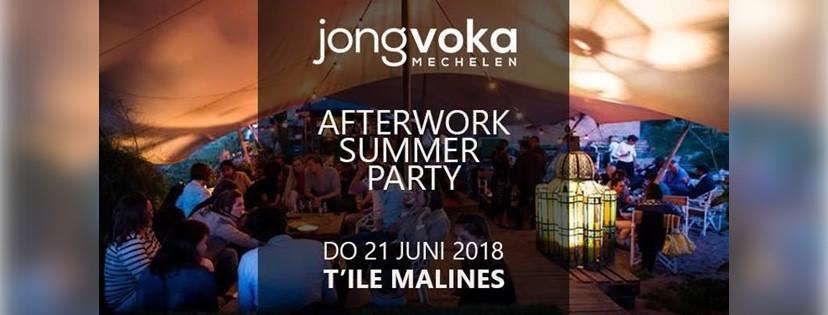 Activiteit 21/06: JVM Afterwork Summer Party 2018